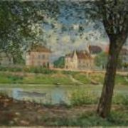 The town of Villeneuve-la-Garenne (Village on the banks of the Seine)